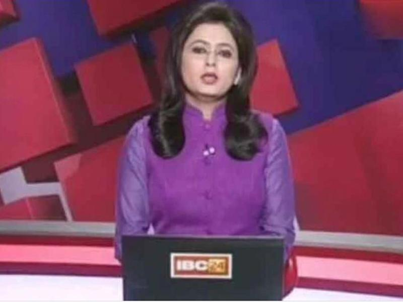 IBC-24 news anchor Supreet Kaur reads out the bulletin: IBC-24