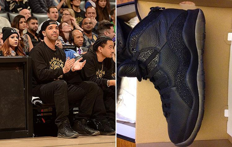 Special-edition OVO Air Jordan Xs won at Raptors' Drake Night going for $100K on eBay … maybe