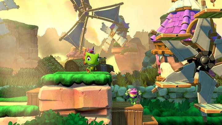 Yooka Laylee and the Impossible Layer for Switch