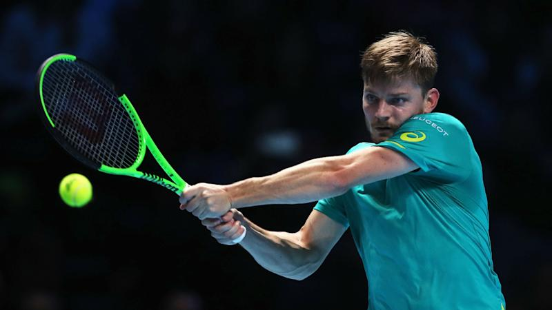 Goffin stuns favourite Federer to reach London final