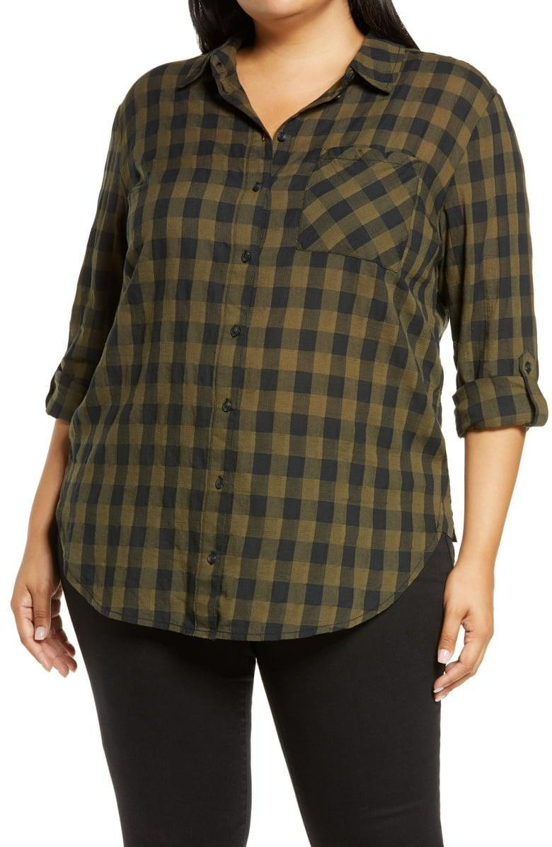 <p>You'll wear this <span>Sanctuary Favorite Front Button Tunic</span> ($89) on the regular.</p>