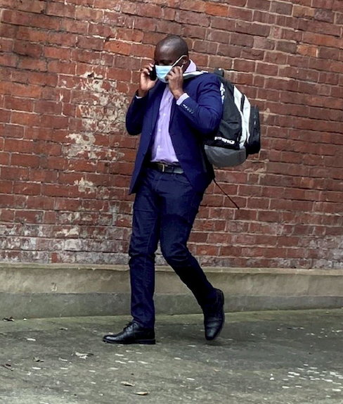 James Ndungu was handed a 15-month prison sentence, suspended for two years and ordered to do 200 hours of unpaid work and sign the sex offenders' register for ten years. (SWNS)
