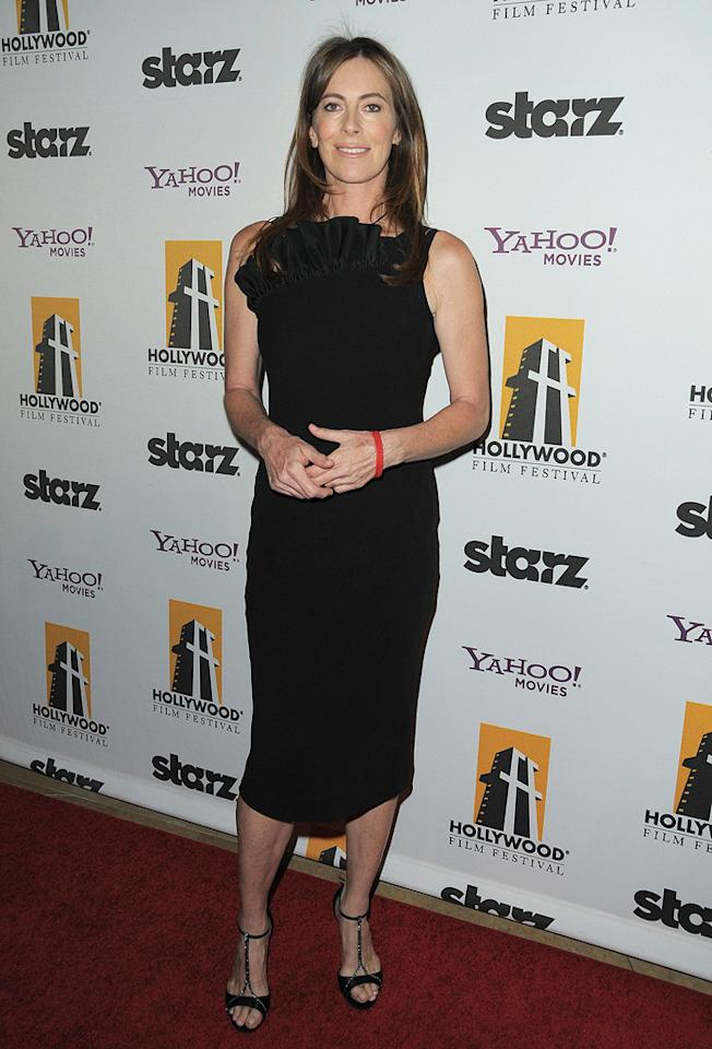 "<a href=""http://movies.yahoo.com/movie/contributor/1800091098"">Kathryn Bigelow</a> at the 13th Annual Hollywood Awards Gala held at the Beverly Hilton Hotel - 10/26/2009"