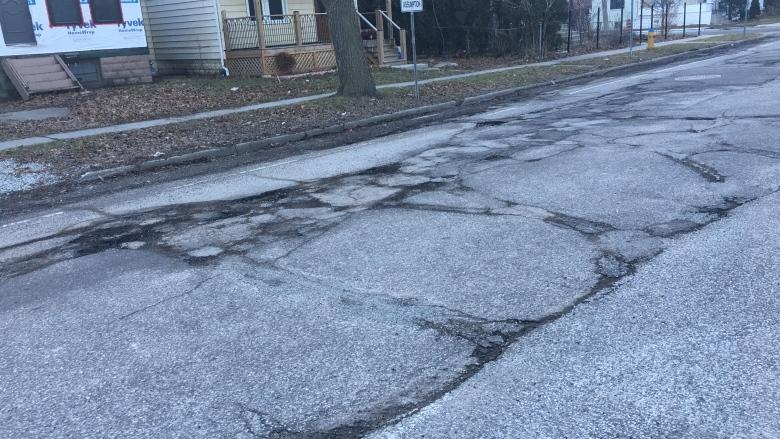Pothole season arrives in Windsor, city says 'We are well aware it's bad out there'