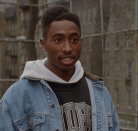 """<p>You know a hairstyle is Important™ when it becomes IDed by the film it was in. When Tupac appeared in <em>Juice </em>sporting an elaborate fade, fans took note and sideways parted fades are known as the """"Juice Cut"""" to this day.</p>"""