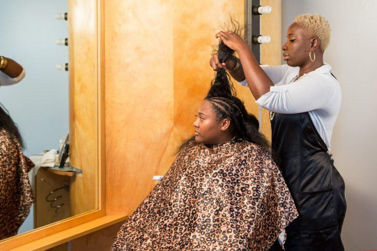 Aicheria Bell was one of two plaintiffs in a lawsuit against Iowa's strict braiding regulations. The law was changed this week. (Photo: Institute for Justice)