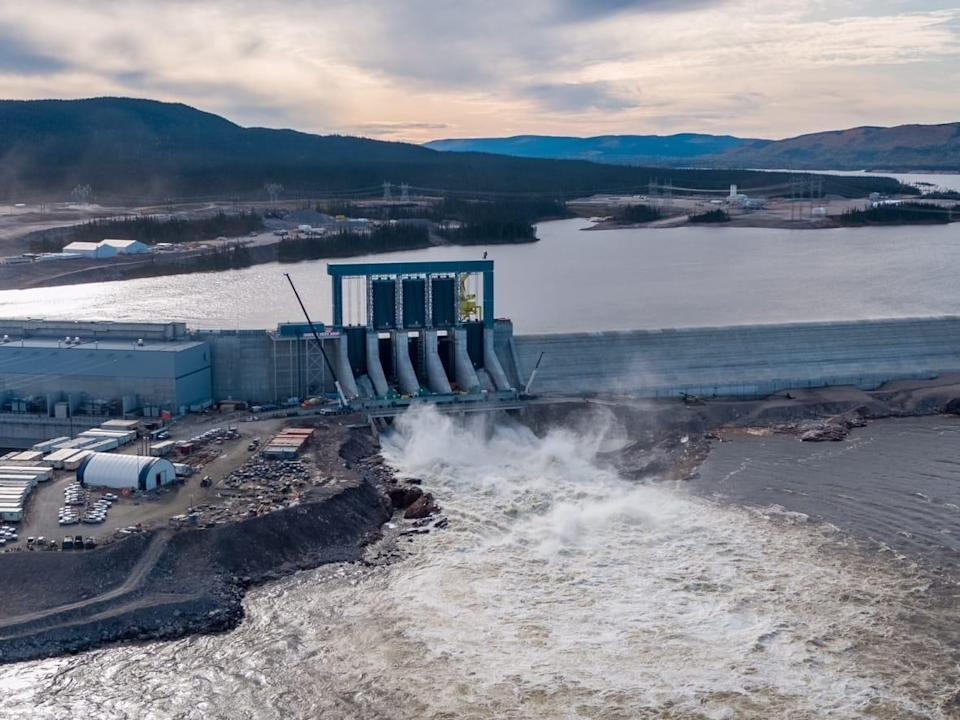 Last July, Ottawa and the Newfoundland and Labrador government announced a $5.2-billion agreement in principle to avoid electricity rates from skyrocketing due to the overbudget Muskrat Falls project. (Nalcor Energy - image credit)