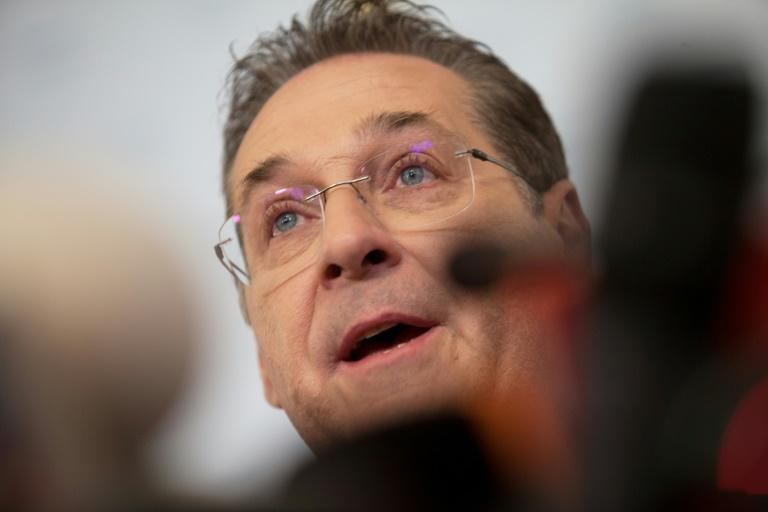 Austria's Vice-Chancellor and chairman of the Freedom Party FPOe Heinz-Christian Strache said he was considering legal action