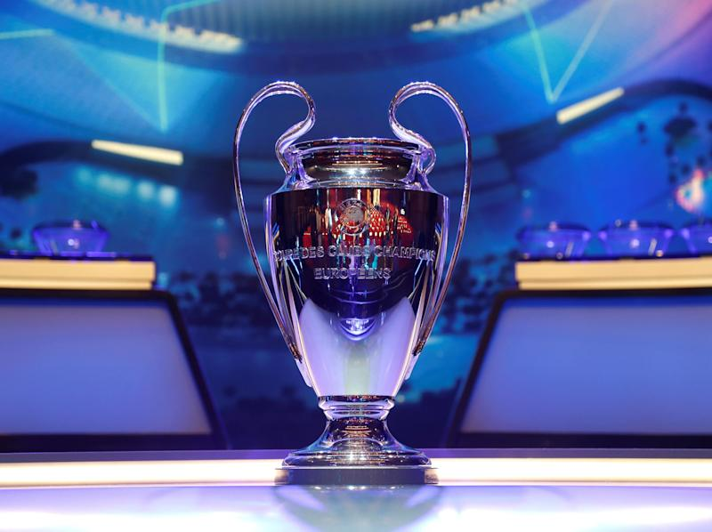 watch champions league draw live: Getty