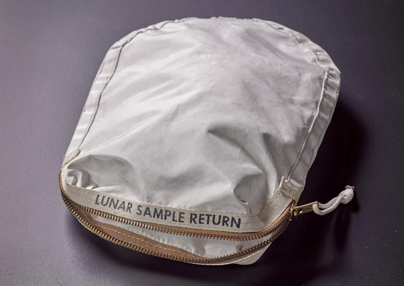 Rare bag of moon dust to be auctioned for millions of dollars