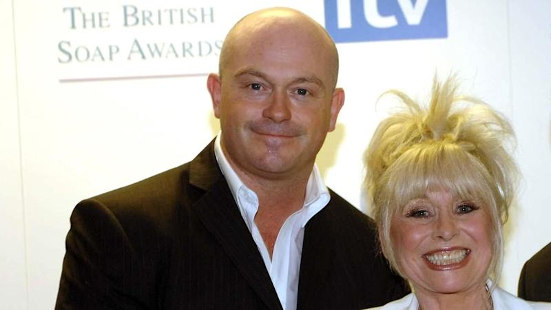 Ross Kemp and Barbara Windsor at the British Soap Awards, from the BBC Television Centre.