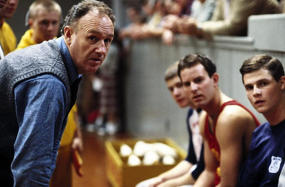 HOOSIERS, Gene Hackman (left), 1986, (c) Orion/courtesy Everett Collection