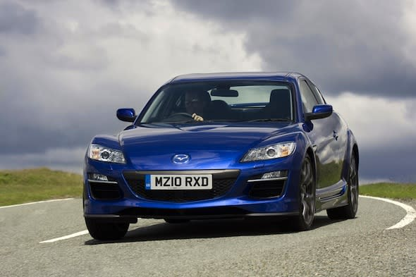 Mazda RX-8 could return as rotary-hybrid