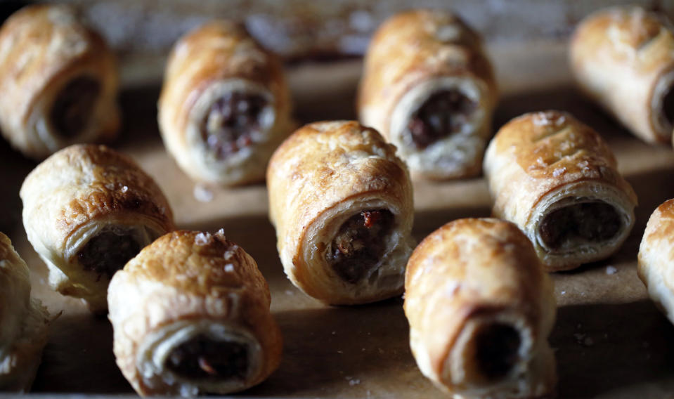 These are sausage rolls. [Photo: Getty]