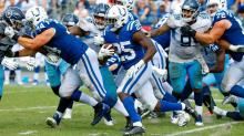Colts offensive line 'all in' on transformation into a run-based team