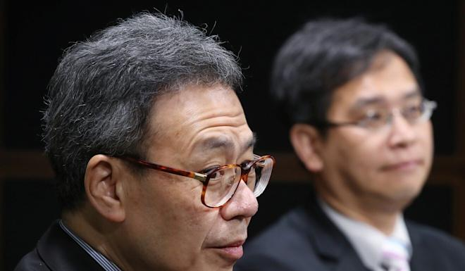 Veteran educator James Lam (left) and lawmaker Ip Kin-yuen have raised concerns over increased Covid-19 risks when in-person learning resumes. Photo: Edward Wong