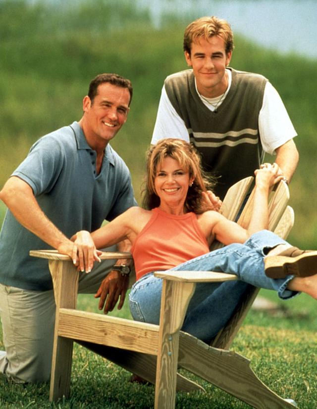 John Wesley Shipp, Mary-Margaret Humes, and James Van Der Beek. (Photo: Everett Collection)