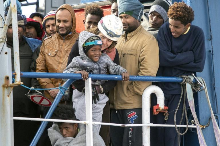 A handful of charity rescue ships patrol the Mediterranean to help migrants in distress