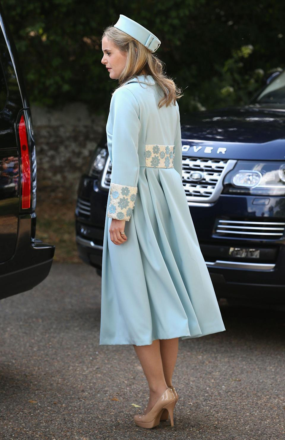 Sophie at Princess Charlotte's christening in 2015 (PA)