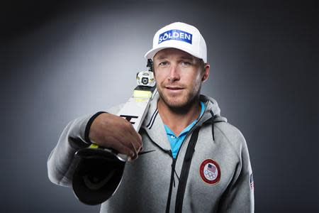 Olympic alpine skier Bode Miller poses for a portrait during the 2013 U.S. Olympic Team Media Summit in Park City, Utah, September 30, 2013. REUTERS/Lucas Jackson