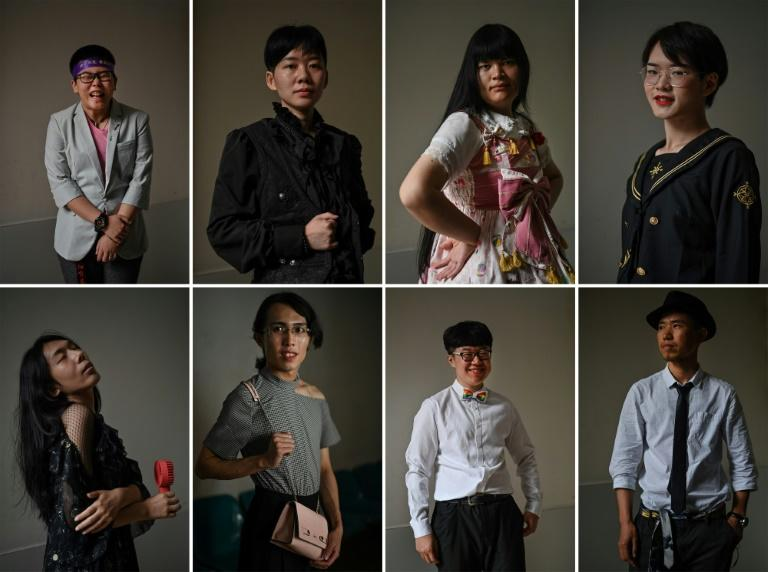 Many trans people in China still face prevalent discrimination and deep-rooted stigma (AFP Photo/HECTOR RETAMAL)