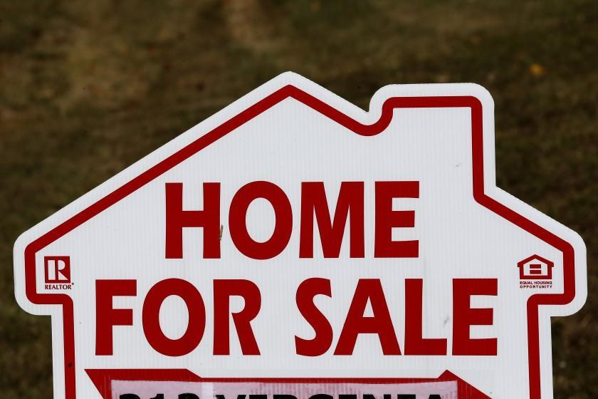 """""""Home for sale"""" sign"""