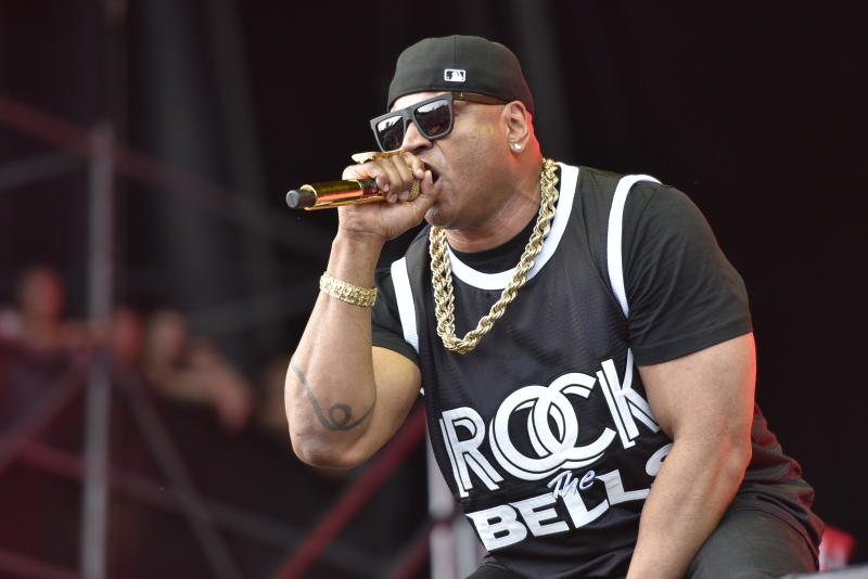 LL Cool J performs on day three at Lollapalooza in Grant Park on Saturday, Aug 4, 2018 in Chicago. (Photo by Rob Grabowski/Invision/AP)