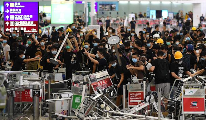 Beijing has repeatedly insisted that Hong Kong is an internal matter. Photo: AFP