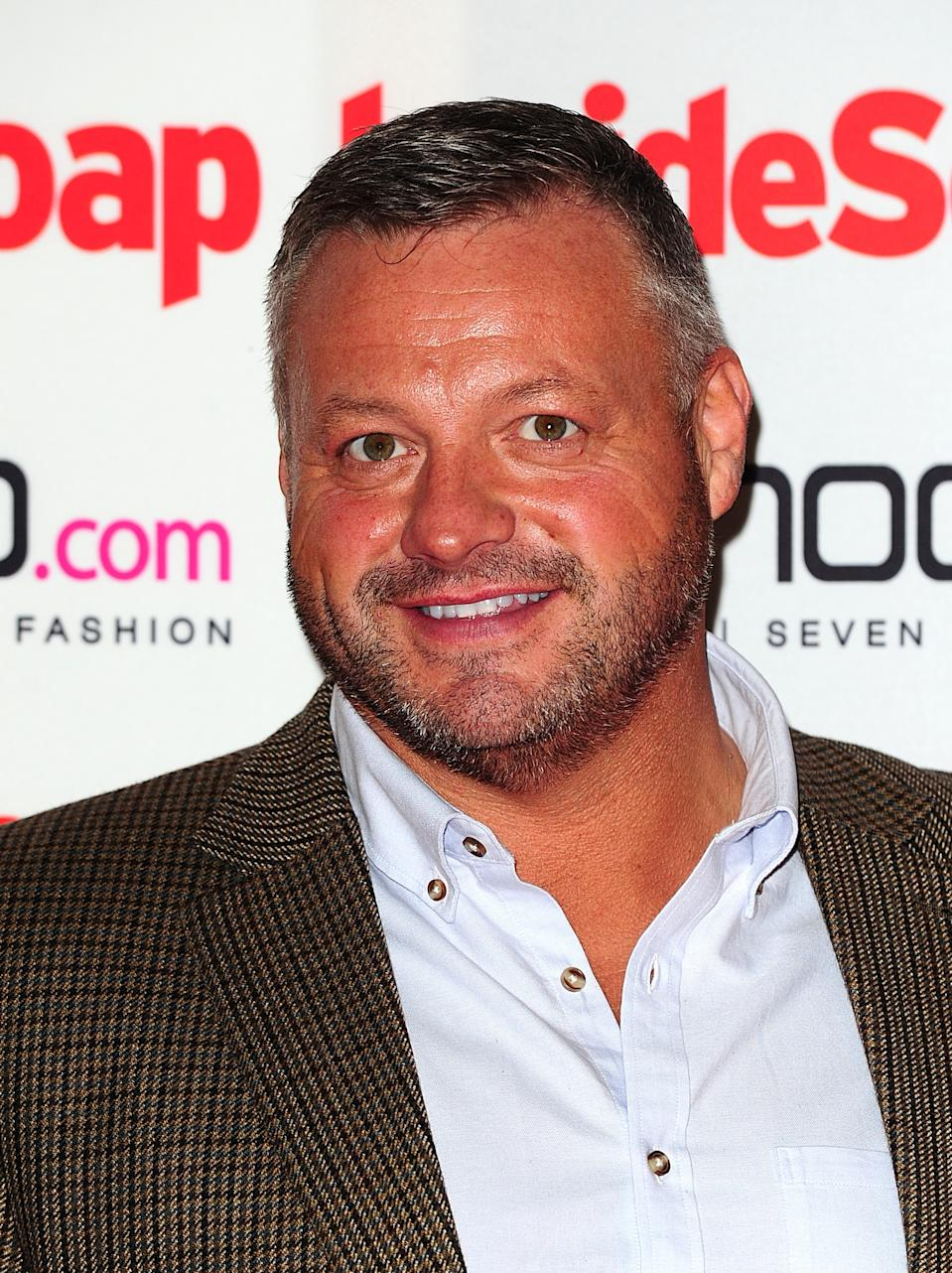 Mick Norcross at the 2012 Inside Soap Awards at One Marylebone, London.