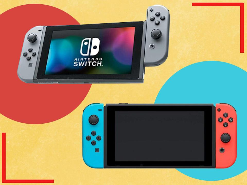 The Nintendo Switch and Switch lite are both on offer for Prime Day  (iStock/The Independent)