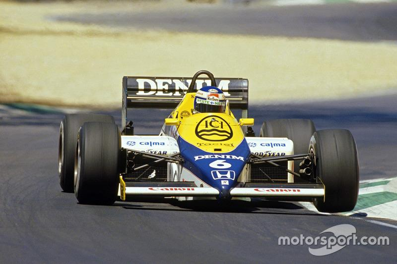 "Keke Rosberg - Williams FW10-Honda - GP de Australia 1985<span class=""copyright"">Williams F1</span>"