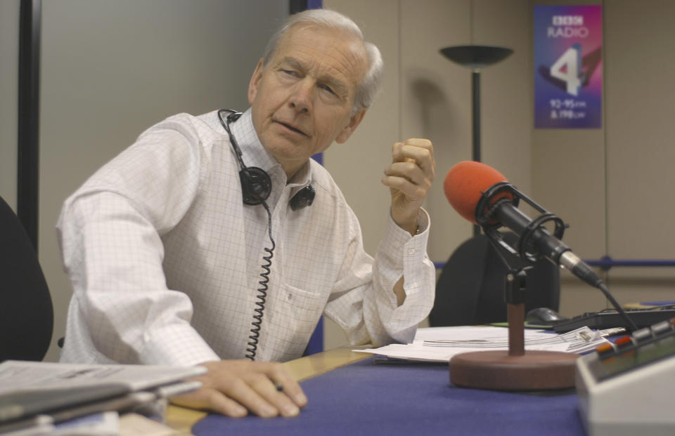 John Humphrys on the Today radio programme (Getty Images)