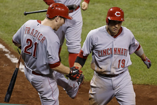 Votto's homer lifts Reds to 6-5 win over Pirates