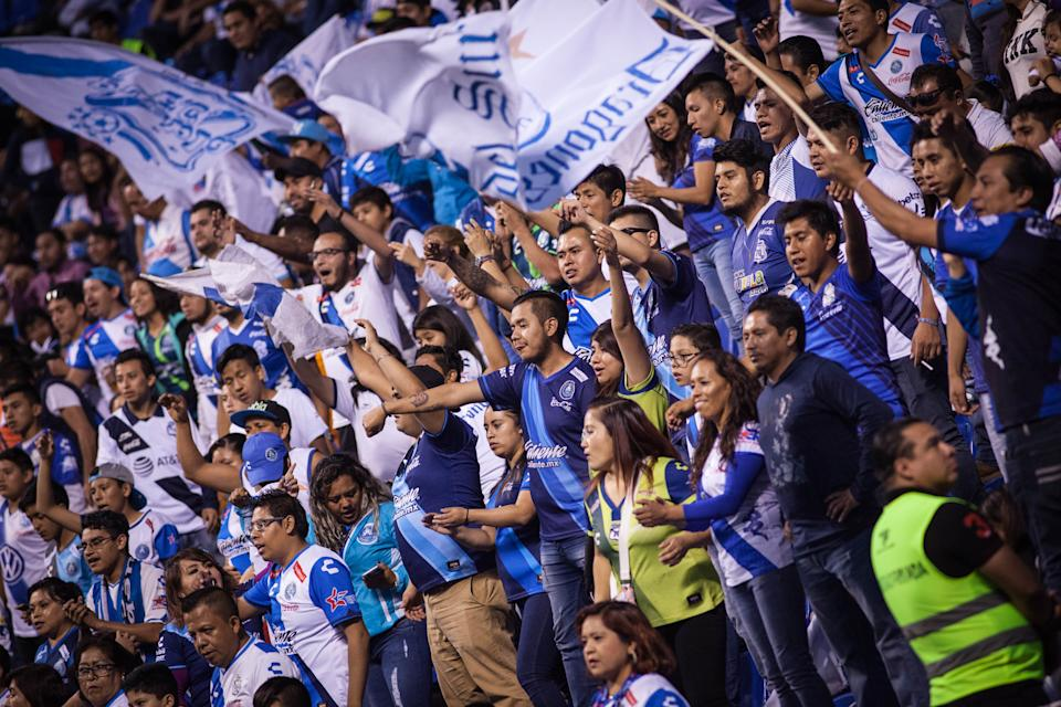 Club Puebla fans will get some much-needed free beer if their team doesn't break its five-game losing streak on Thursday. (Photo by Pedro Mera/Getty Images)