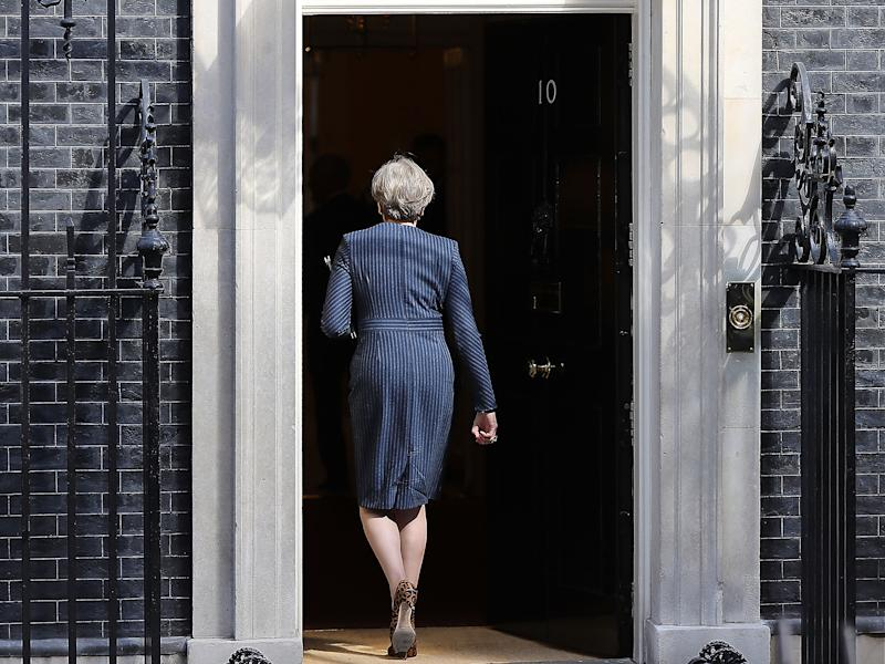 Theresa May has declined the invitation to take part in a live TV debate before the general election. Broadcasters are considering presenting an empty podium in her place: Getty Images