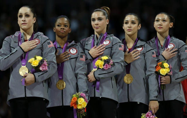 The Fierce Five, 2012. (Associated Press)