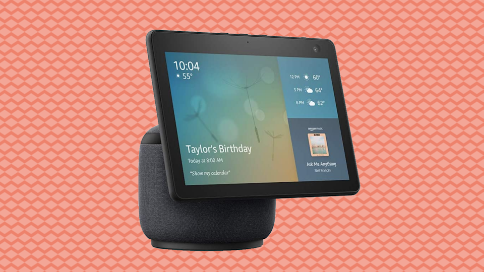 The new Echo Show 10 was released a few weeks ago and it's already discounted! (Photo: Amazon)