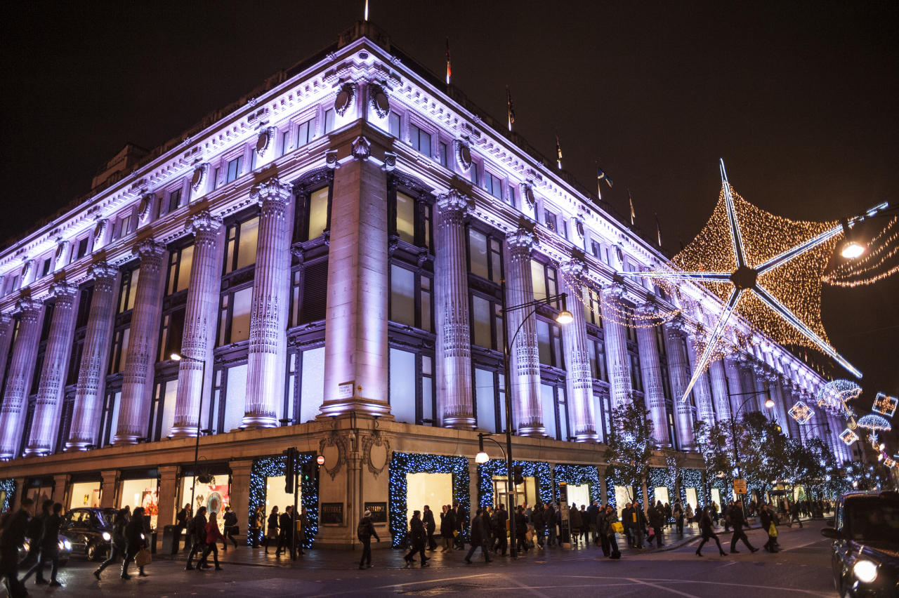 """<p>Arguably the biggest Christmas switch-on in London, <a rel=""""nofollow"""" href=""""https://www.oxfordstreet.co.uk/christmas-lights-switch-show/"""">Oxford Street</a> will be turning on its 1,778 lights on November 7. Inspired by falling snowflakes, Rita Ora will be pressing the official button. The event is expected to attract over one million people so be prepared. From 5pm outside Park House. </p>"""