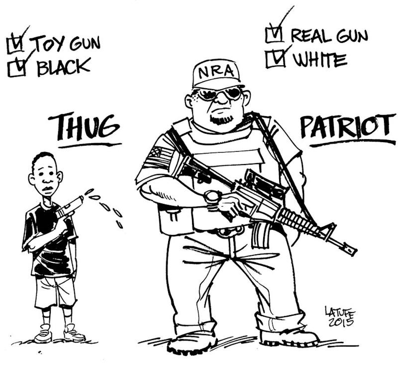 This Comic Sums Up the Double Standard Used to Excuse White Violence