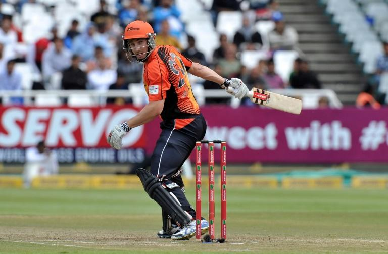 Shaun Marsh in action last season for the Perth Scorchers who are hot favourites for their fourth crown in Australia's high-octane Big Bash League