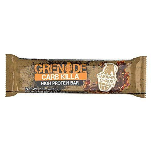"""<p><strong>Grenade</strong></p><p>amazon.com</p><p><a href=""""https://www.amazon.com/dp/B01D48A4VY?tag=syn-yahoo-20&ascsubtag=%5Bartid%7C2139.g.19519889%5Bsrc%7Cyahoo-us"""" rel=""""nofollow noopener"""" target=""""_blank"""" data-ylk=""""slk:BUY NOW"""" class=""""link rapid-noclick-resp"""">BUY NOW</a></p><p>High in protein. High in flavor. High marks all around.</p>"""