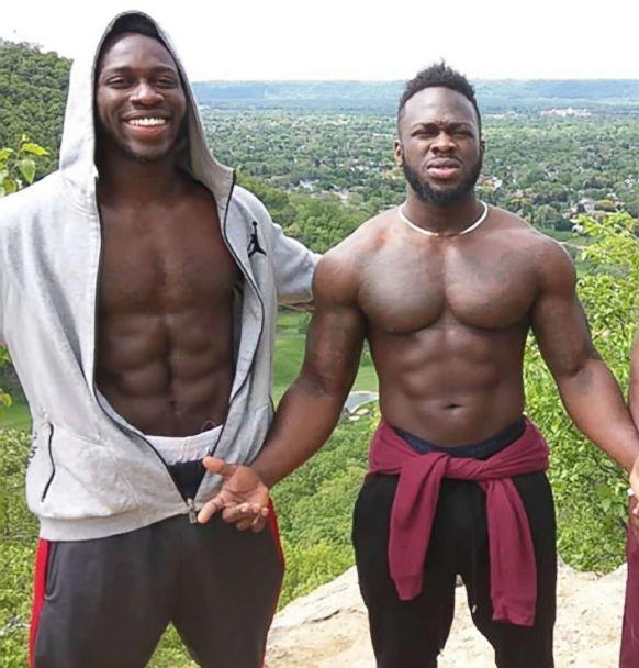 PHOTO: Abimbola (left) and Olabinjo  Osundairo are believed to have purchased the rope found around Smollett's neck. (TMZ)