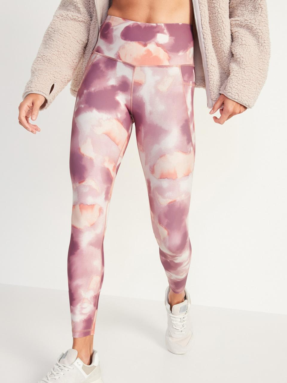 High-Waisted Elevate Powersoft 7/8-Length Leggings (Photo via Old Navy)