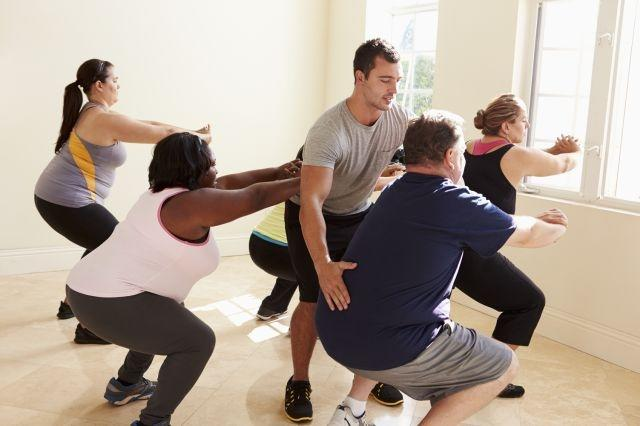Even ten-minute bursts of exercise could lower the risk of heart disease for obese individuals