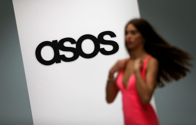 UK fashion retailer ASOS raises 247 million pounds in placing