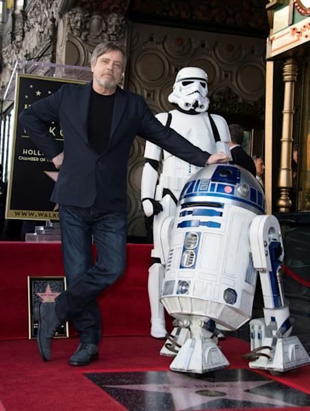 Mark Hamill has appeared in some 70 movies which were nothing to do with Lucasfilm's space opera, not to mention almost 200 TV shows, but will always be thought of as ingenue farm boy turned pan-galactic lightsaber-wielding hero Luke Skywalker