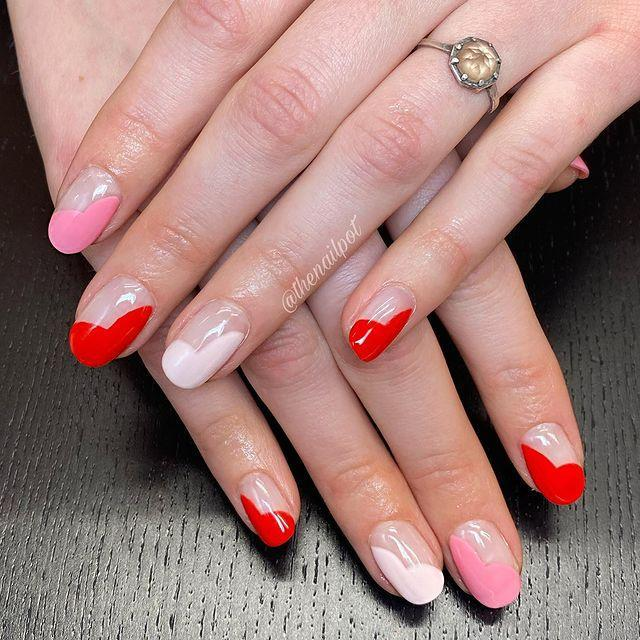 "<p>A classic French nail design with a romantic twist.</p><p><a href=""https://www.instagram.com/p/CKPf1_WMgbR/?utm_source=ig_embed&utm_campaign=loading"" rel=""nofollow noopener"" target=""_blank"" data-ylk=""slk:See the original post on Instagram"" class=""link rapid-noclick-resp"">See the original post on Instagram</a></p>"