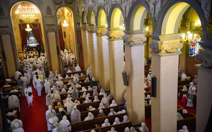Experts say Ethiopia's Christian heritage is being extinguished - GETTY IMAGES