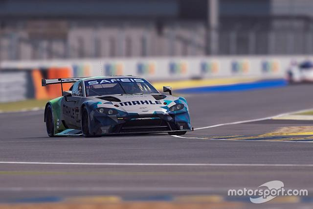 "#67 Mahle Racing Team Aston Martin Vantage GTE: Ferdinand Habsburg, Robert Wickens, Jimmy Broadbent, Kevin Rotting <span class=""copyright"">Xynamic </span>"