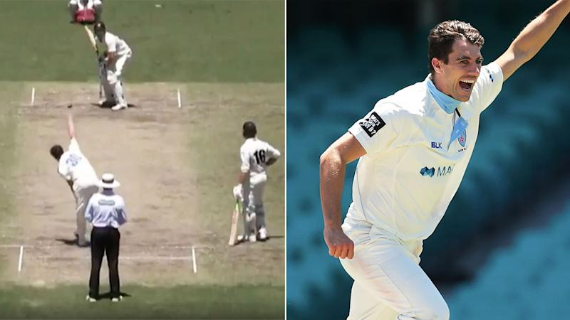 NSW quick Pat Cummins was in sensational form against WA in the Sheffield Shield.